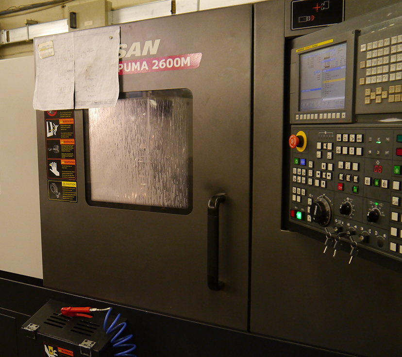 Doosan Puma 2600M C-Axis Turn-Mill